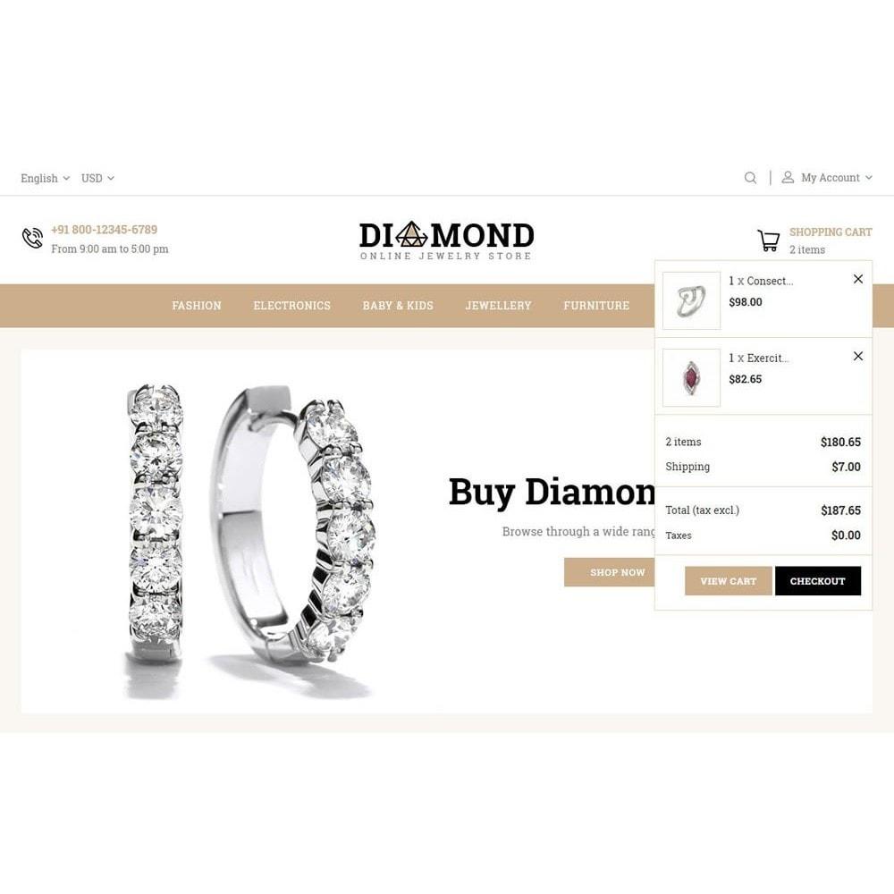 theme - Bijoux & Accessoires - Diamond Jewelry Store - 9