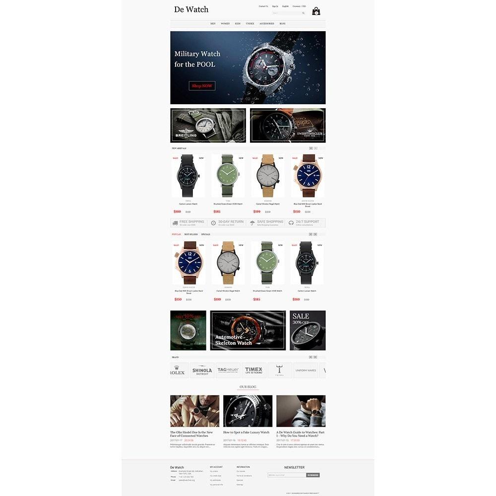 theme - Bellezza & Gioielli - De Watche - Watches and Accessories Store. - 2