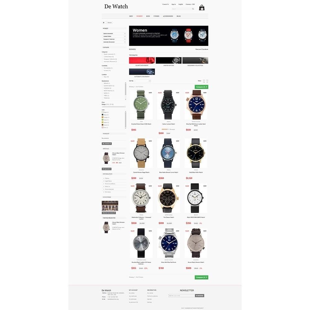 theme - Bellezza & Gioielli - De Watche - Watches and Accessories Store. - 3