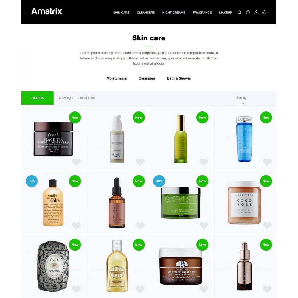 theme - Health & Beauty - Amatrix Cosmetics - 4