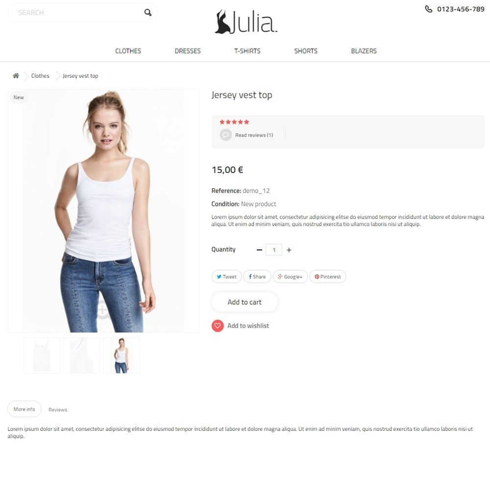 theme - Мода и обувь - Julia Fashion Store - 7