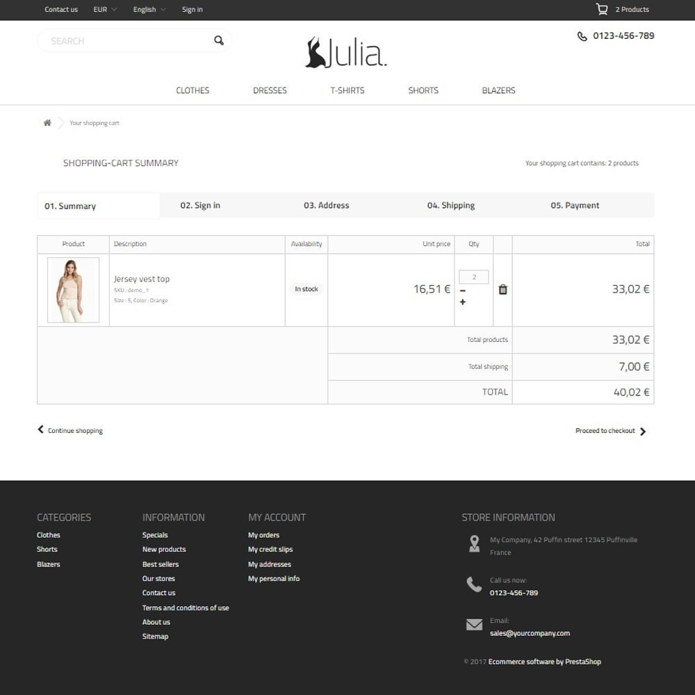 theme - Мода и обувь - Julia Fashion Store - 8