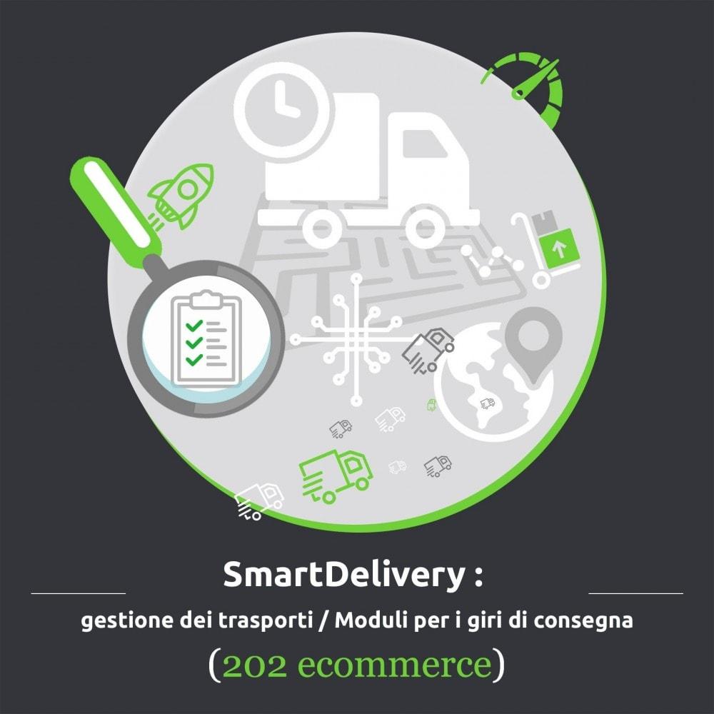 module - Corrieri - SmartDelivery: gestione dei trasporti/giri di consegna - 1