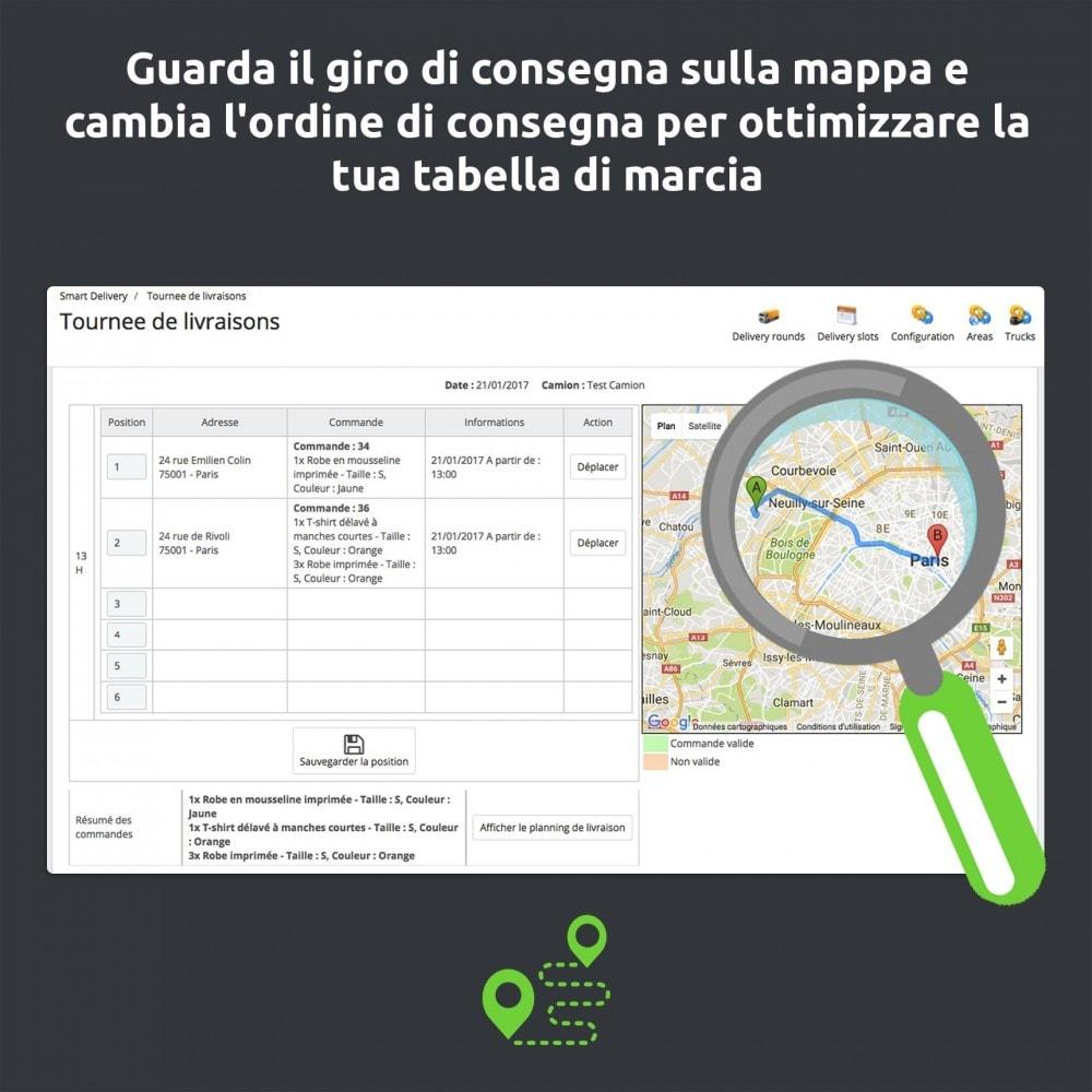 module - Corrieri - SmartDelivery: gestione dei trasporti/giri di consegna - 10