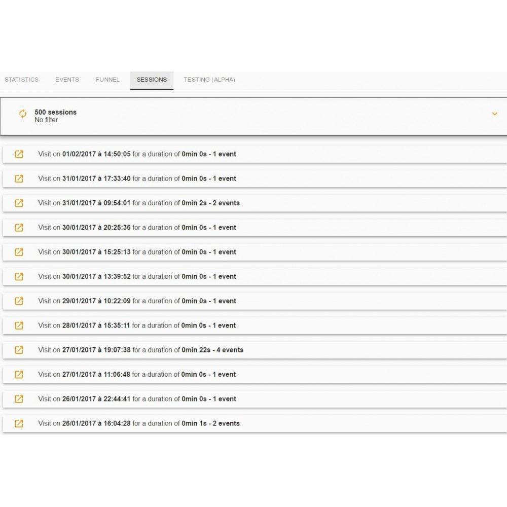 module - Informes y Estadísticas - Weasel Spark - 2