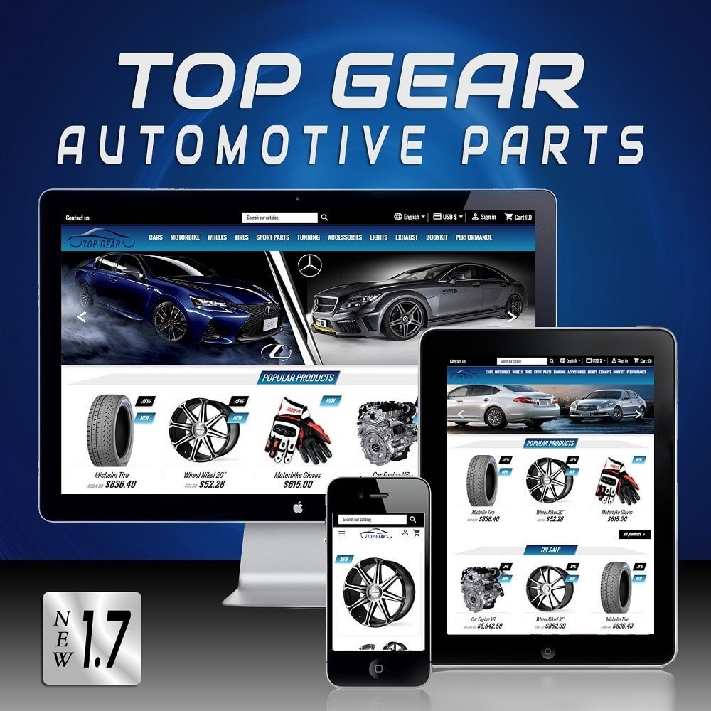 theme - Coches y Motos - Top Gear - Automotive Parts - 1