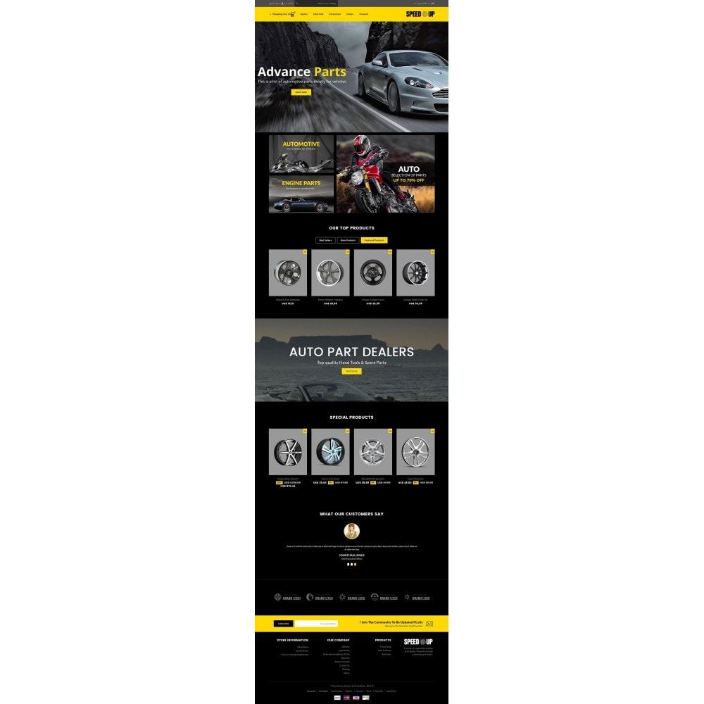 theme - Autos & Motorräder - SpeedUp Auto Store - 6