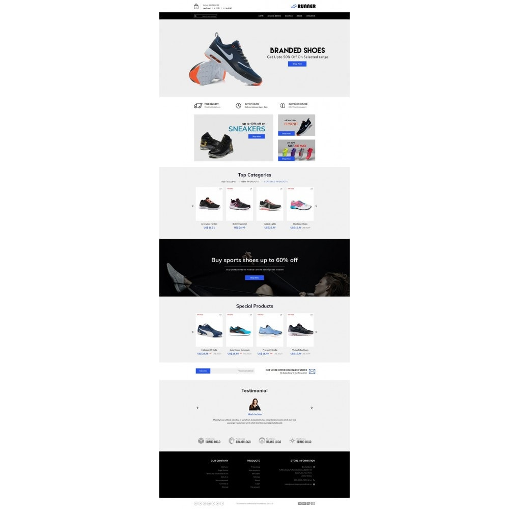 theme - Mode & Chaussures - Runner Shoes Store - 6