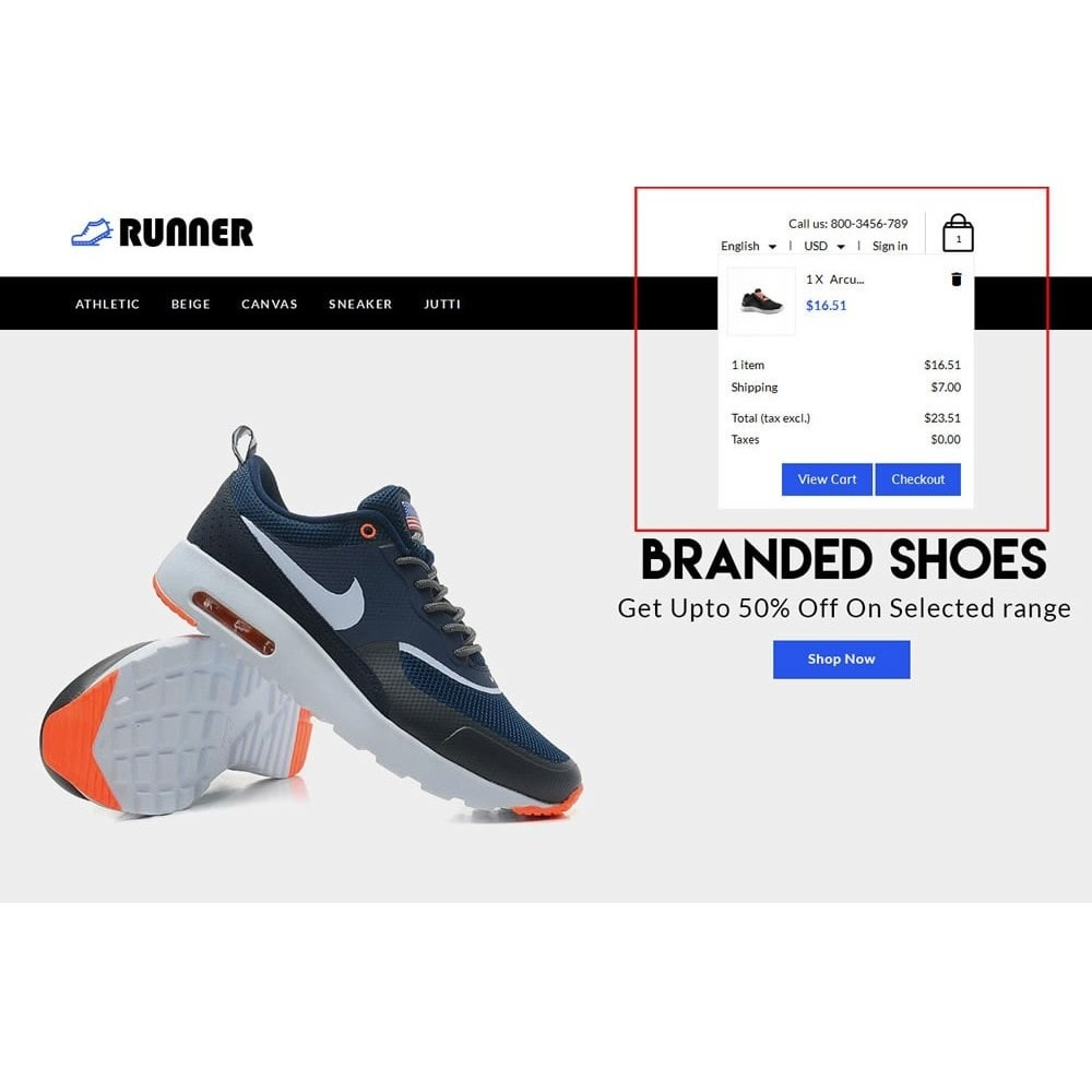 theme - Fashion & Shoes - Runner Shoes Store - 8