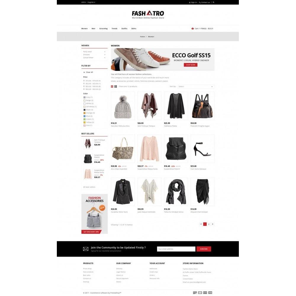 theme - Мода и обувь - Fashtro - Online Fashion Store - 3