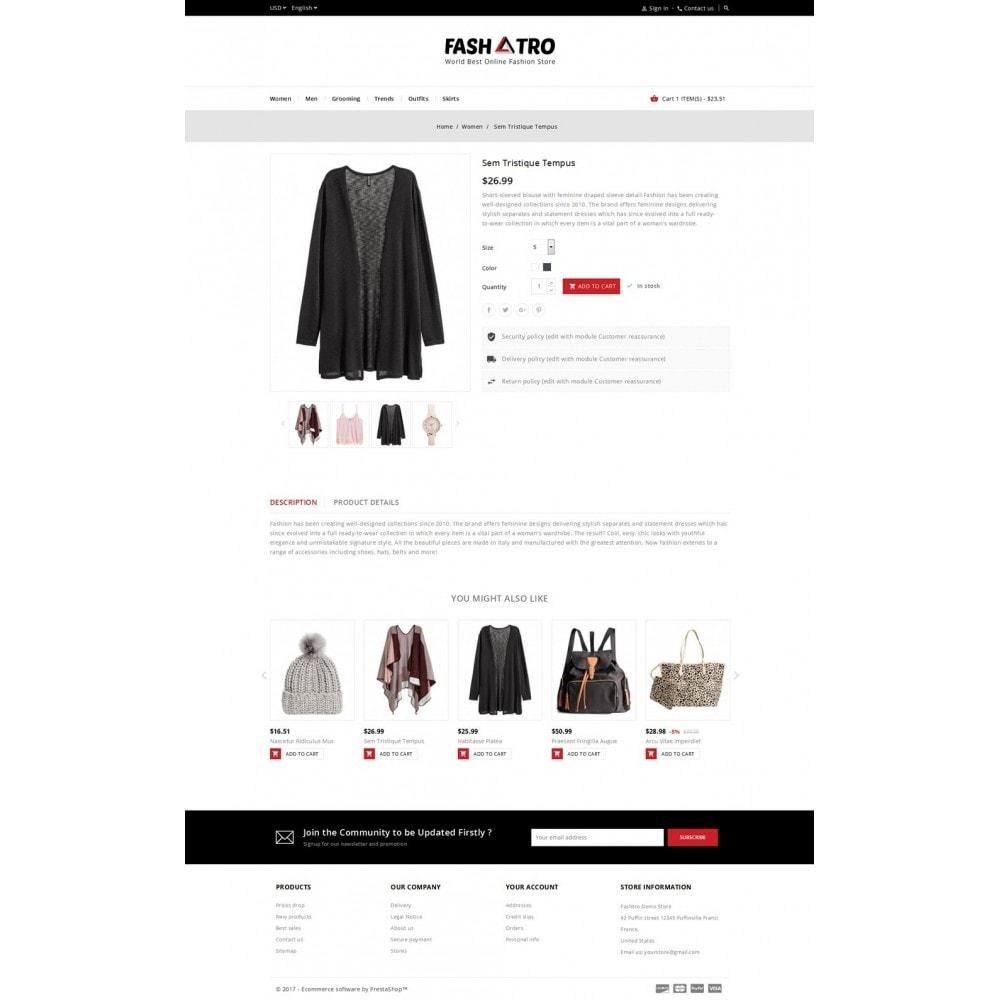 theme - Мода и обувь - Fashtro - Online Fashion Store - 5
