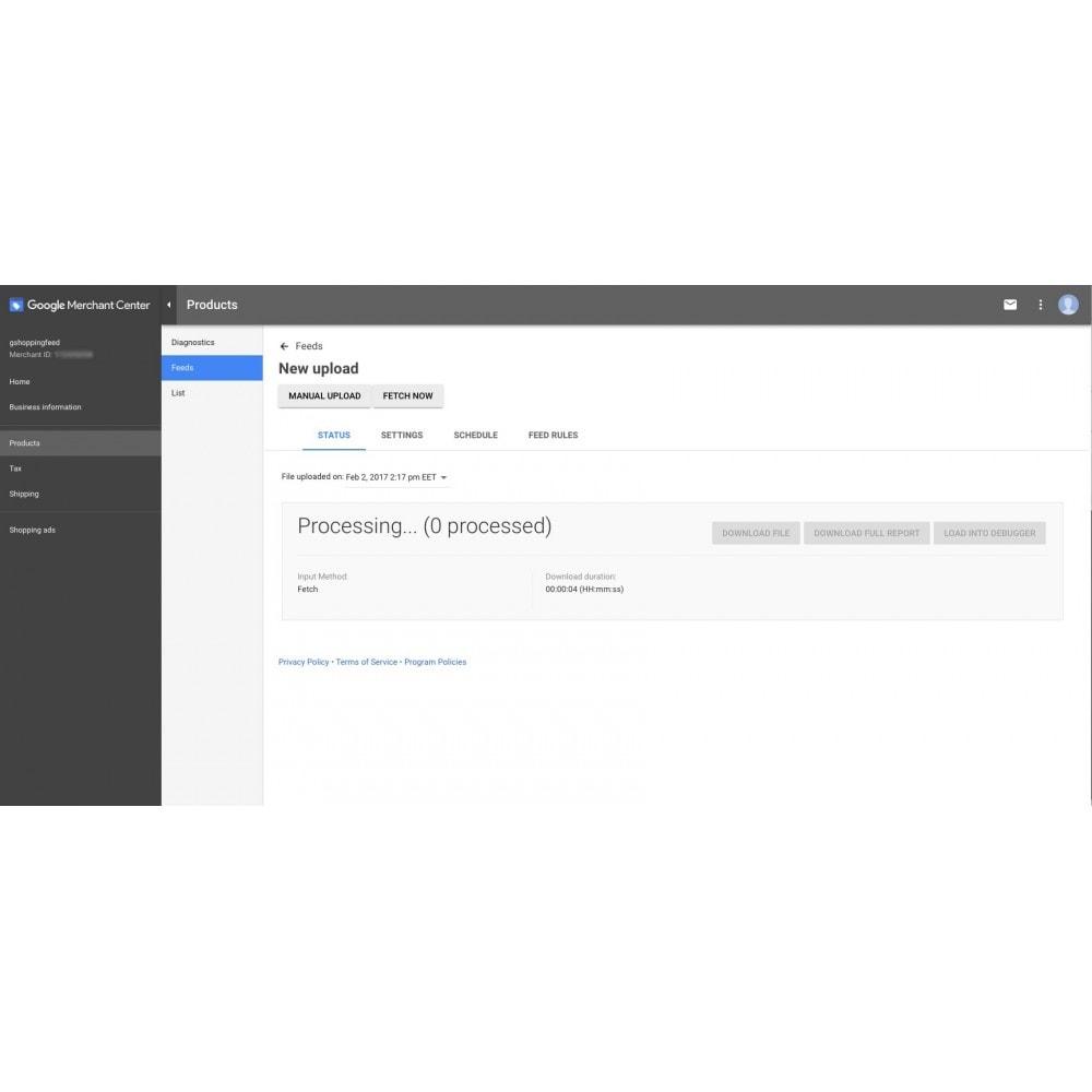 module - Price Comparison - Google Shopping Feed (for Google Merchant Center) - 9