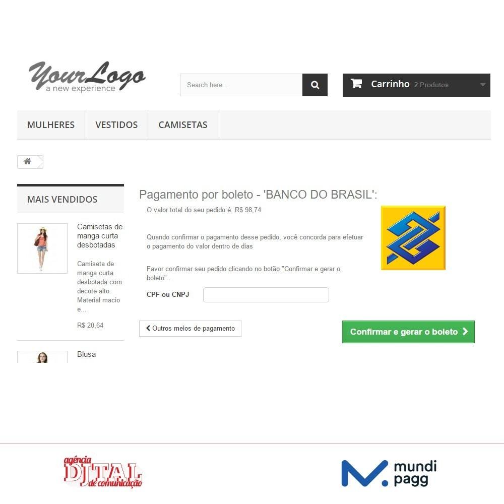 module - Pagamento por cartão ou por carteira - Mundipagg - 4