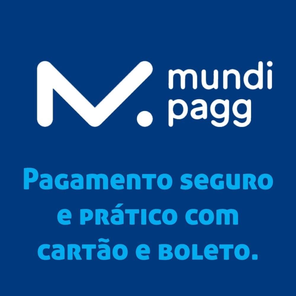module - Pagamento con Carta di Credito o Wallet - Mundipagg - 1