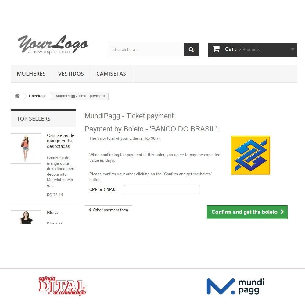 module - Pagamento con Carta di Credito o Wallet - Mundipagg - 4
