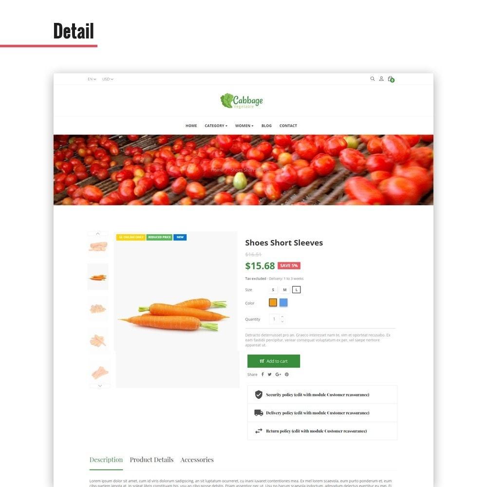 theme - Lebensmittel & Restaurants - Leo Cabbage - 3
