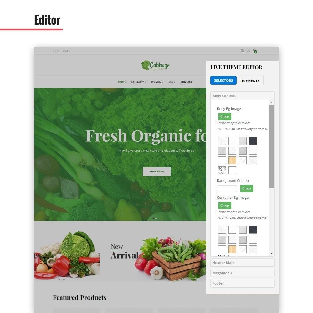 theme - Lebensmittel & Restaurants - Leo Cabbage - 6