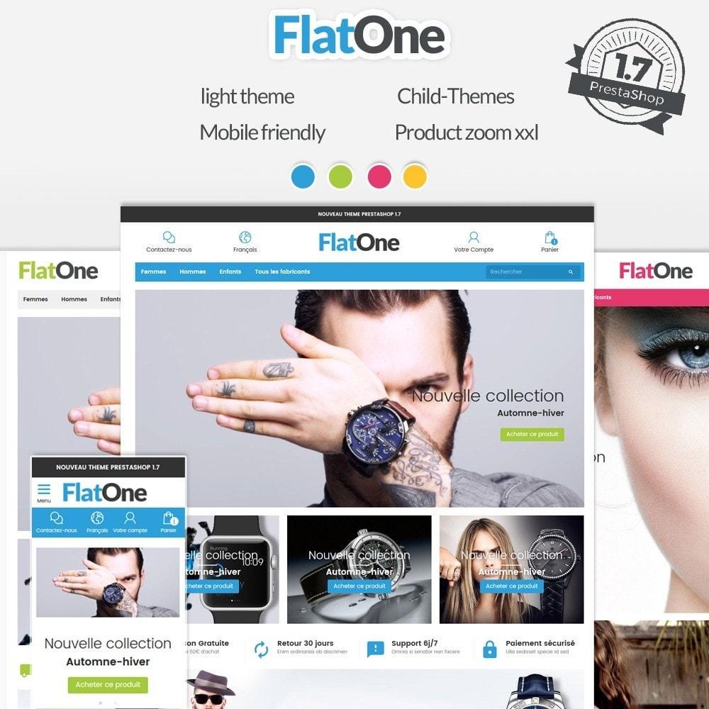 theme - Mode & Chaussures - Flatone - 2
