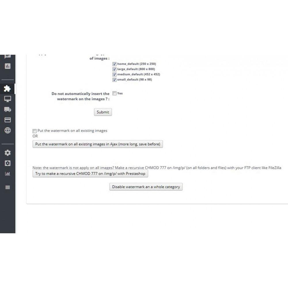 module - Seguridad y Accesos - Watermark / brand on images - 5