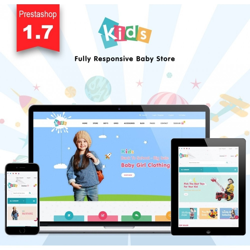 theme - Kids & Toys - JMS Kids 1.7 - 1