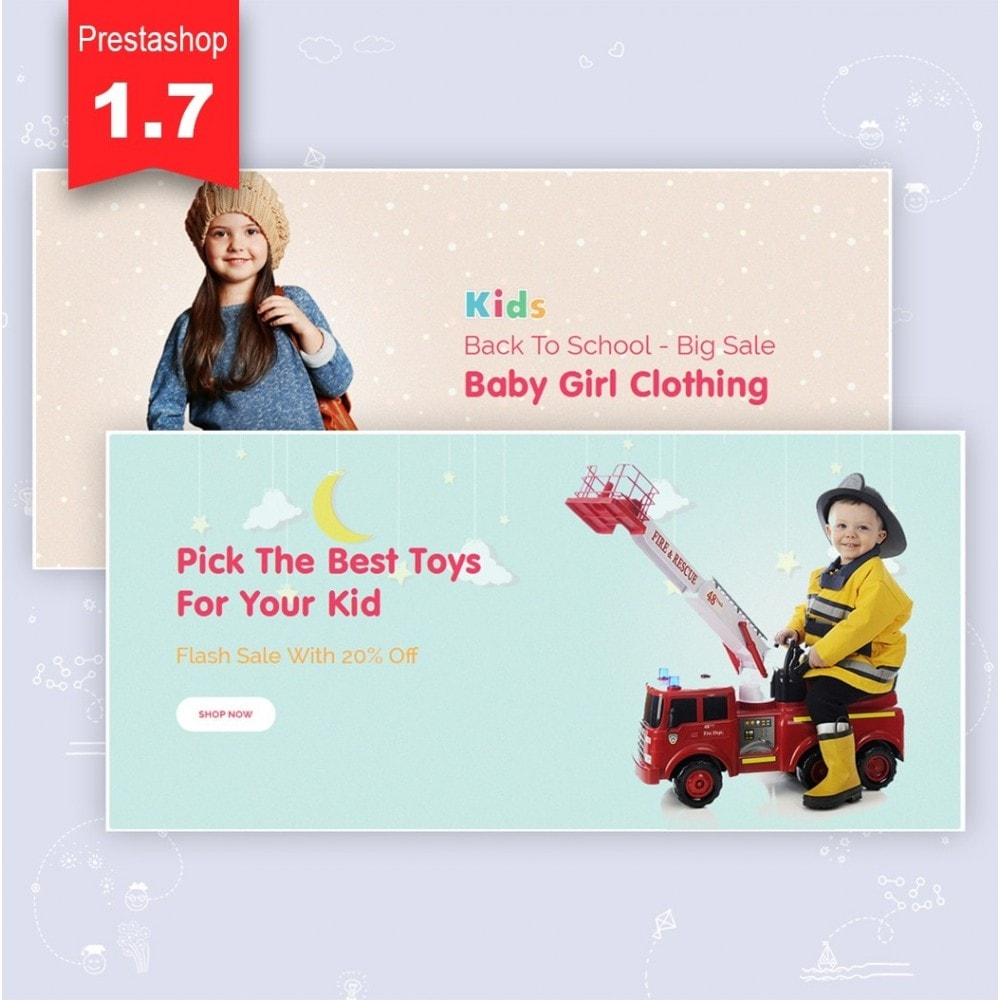 theme - Zabawki & Artykuły dziecięce - JMS Kids 1.7 - 3