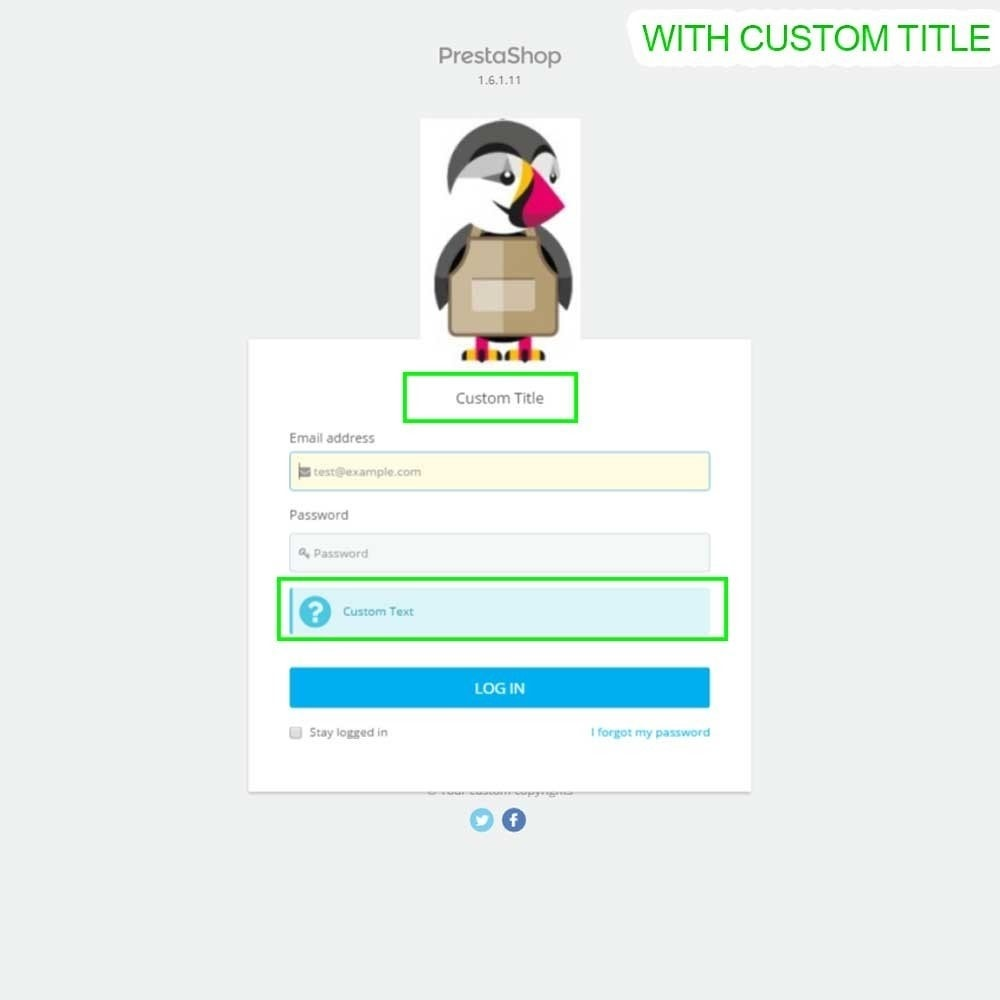 module - Administrationstools - Admin Login Page Customization - 10