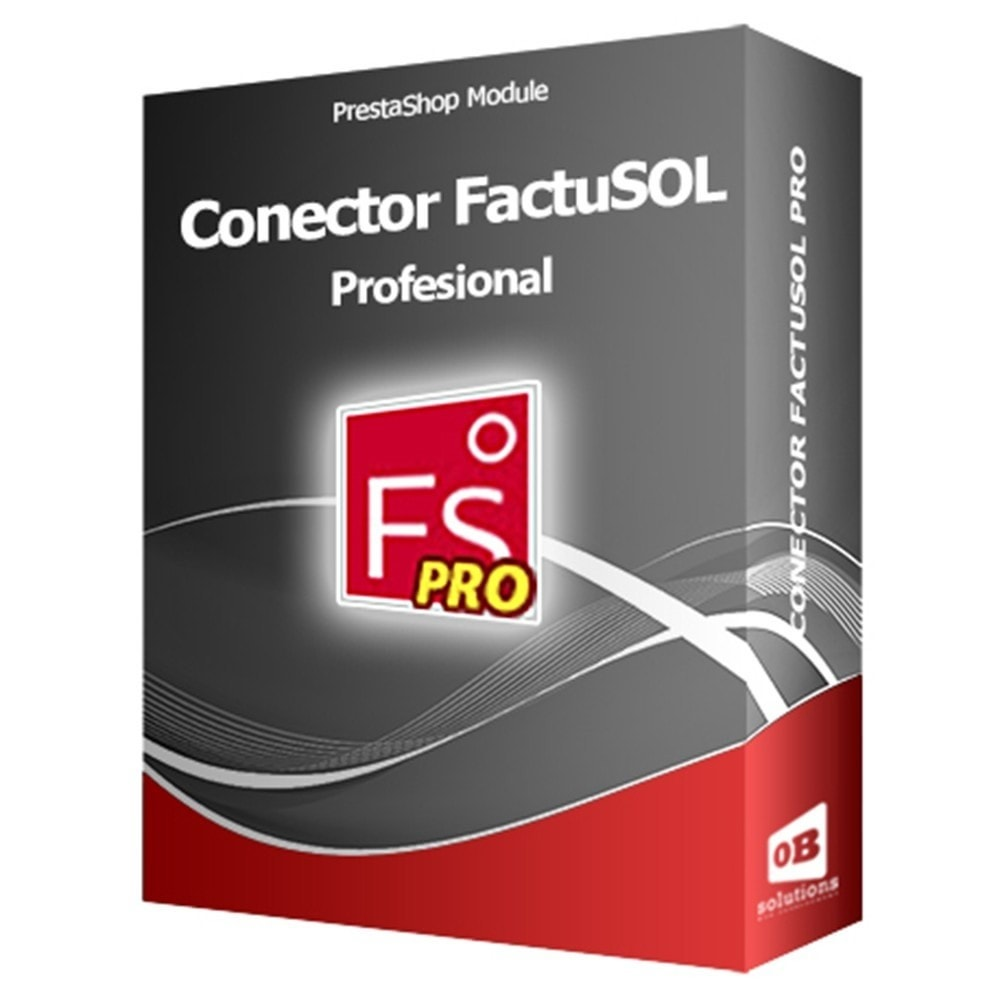module - Integracja z programami stron trzecich (CRM, ERP...) - Professional FactuSOL Connector - 1