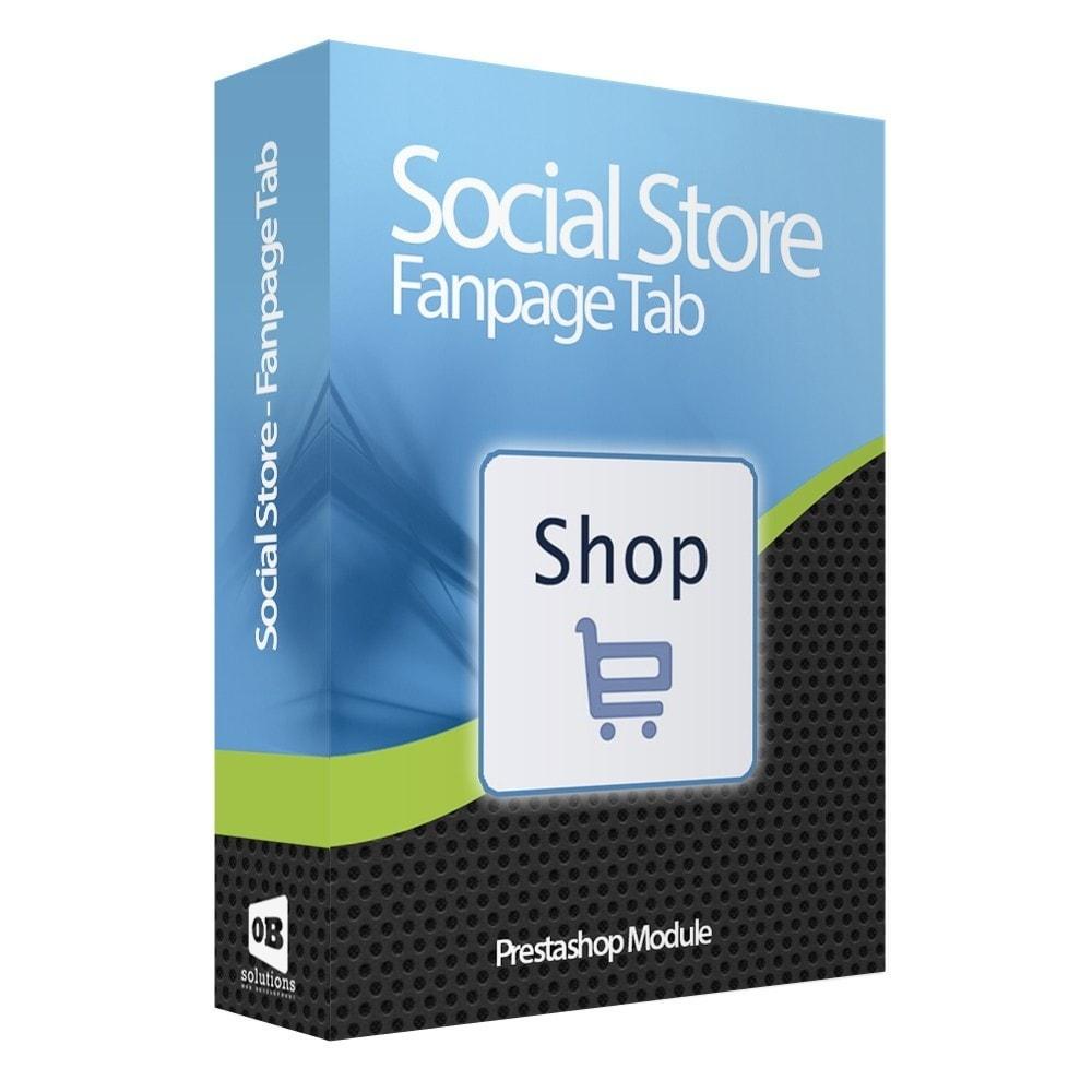module - Productos en Facebook & redes sociales - Importador de Catálogo a Tienda Facebook e Instagram - 1