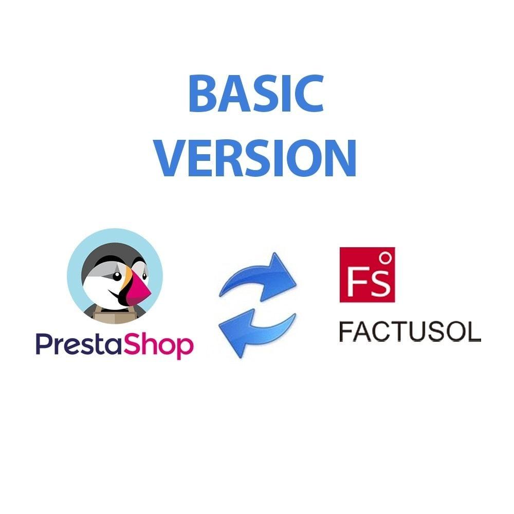 module - Third-party Data Integration (CRM, ERP...) - Basic FactuSOL Connector - 2