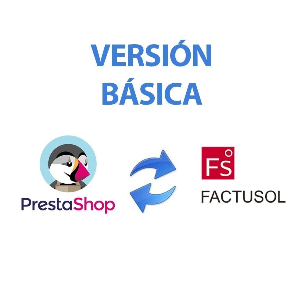 module - Integración con CRM, ERP... - Conector FactuSOL BÁSICO - 2