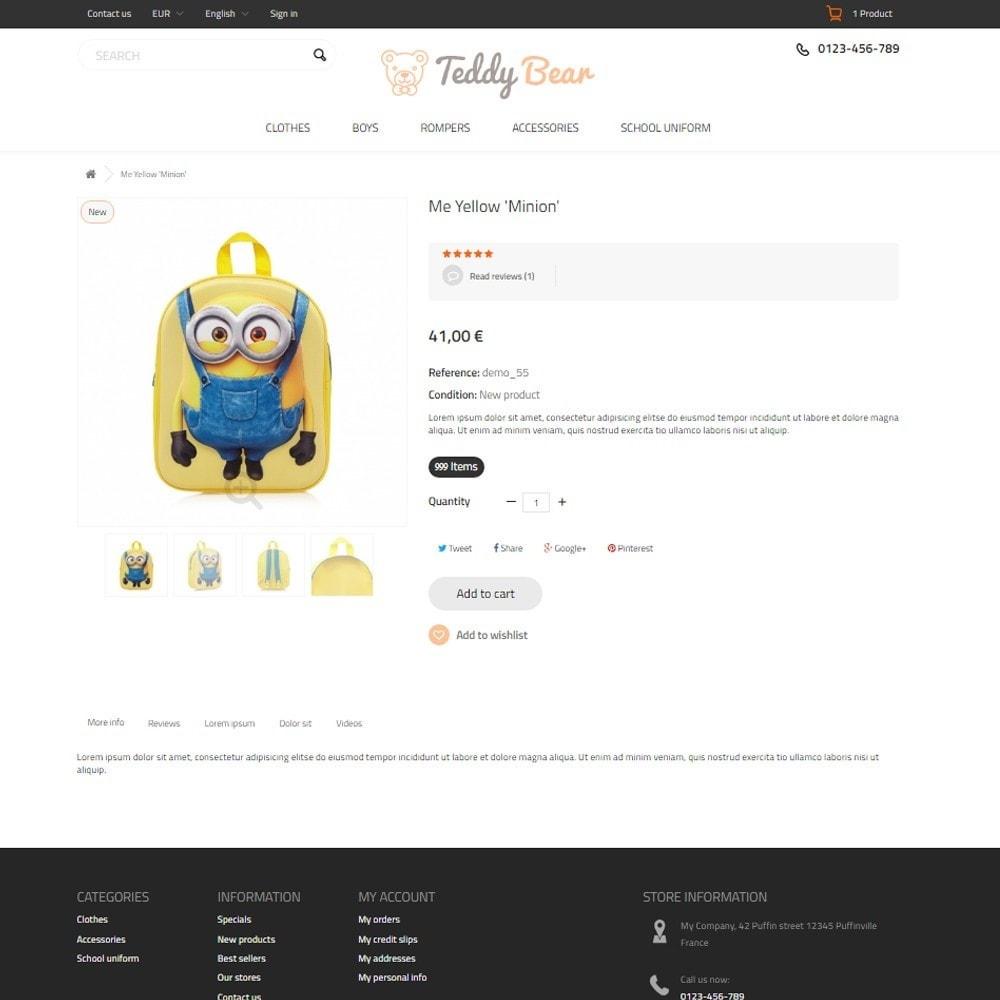 theme - Zabawki & Artykuły dziecięce - Teddy Bear - 6