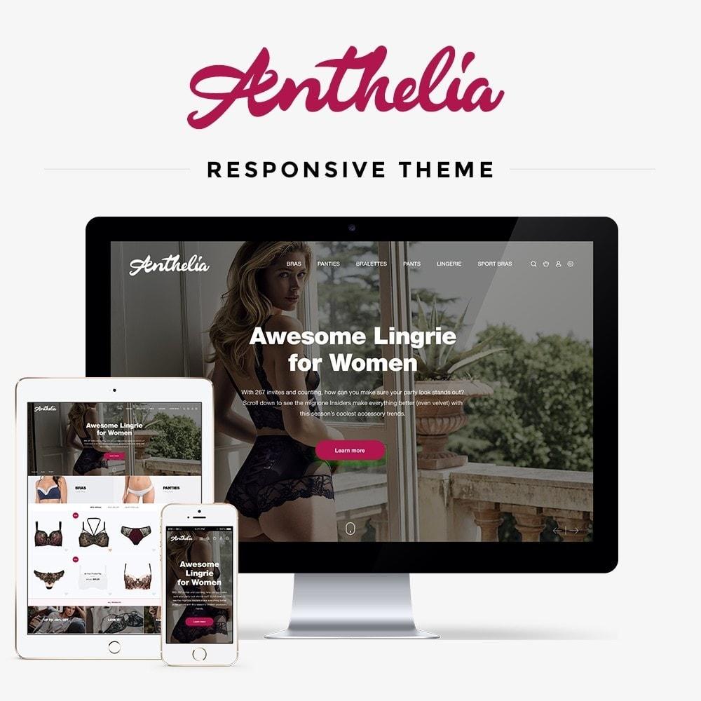 theme - Lingerie & Adultos - Anthelia - 1
