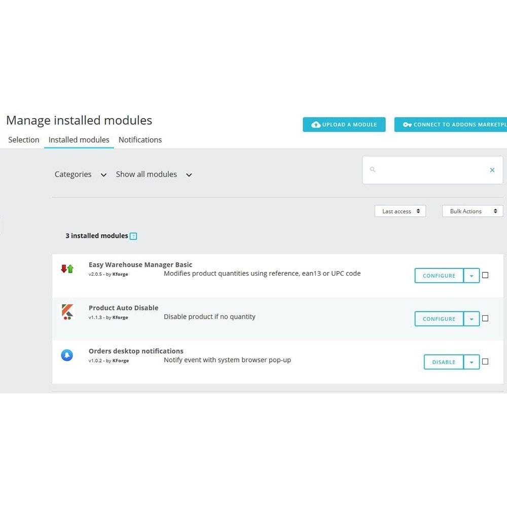 module - электронные письма и уведомления - Orders desktop notifications - 3