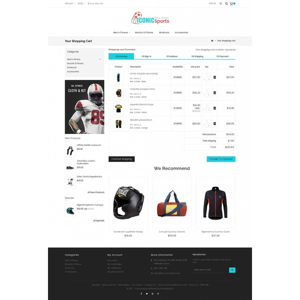 theme - Deportes, Actividades y Viajes - Iconic Sports Store - 6