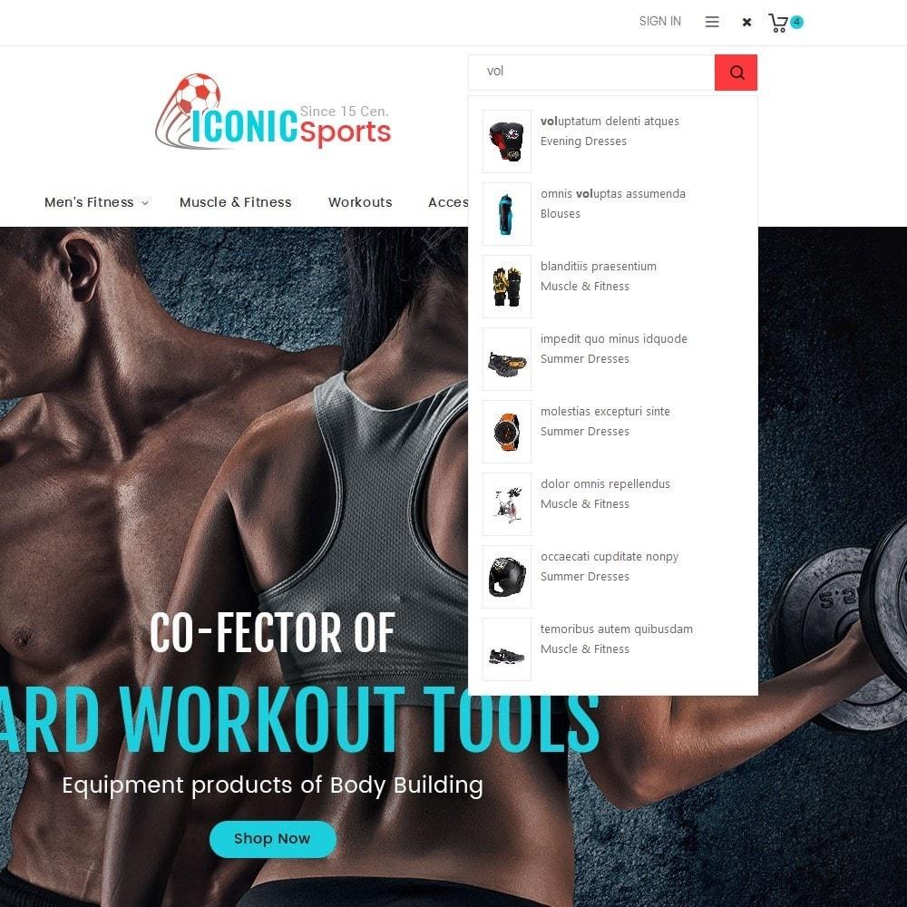 theme - Deportes, Actividades y Viajes - Iconic Sports Store - 10