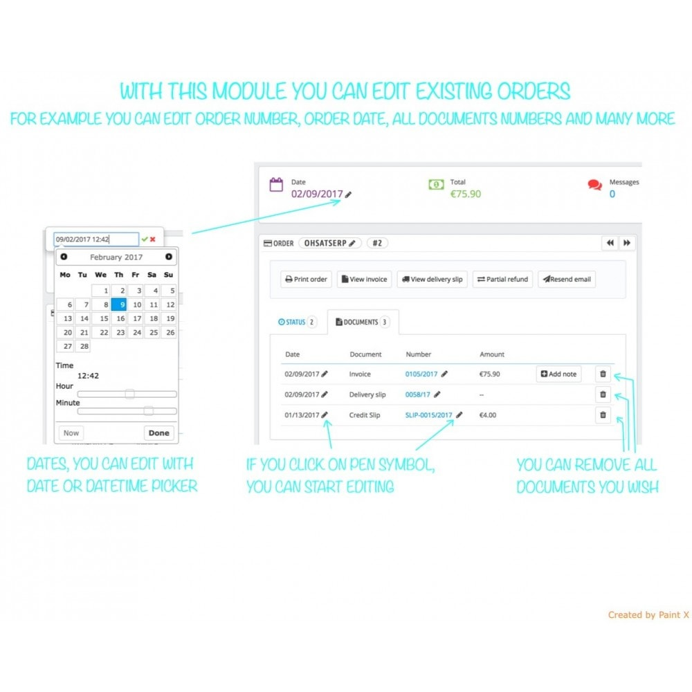 module - Orderbeheer - Orders Management PRO - Edit Orders and Custom Numbers - 1