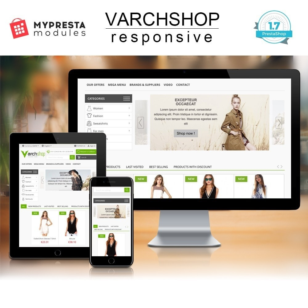 theme - Мода и обувь - Varchshop Lite - 1