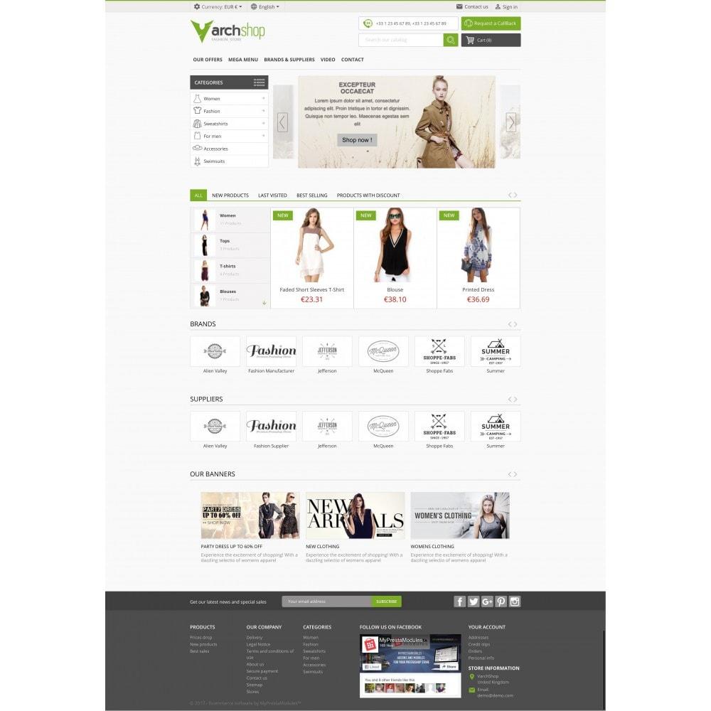theme - Мода и обувь - Varchshop Lite - 2