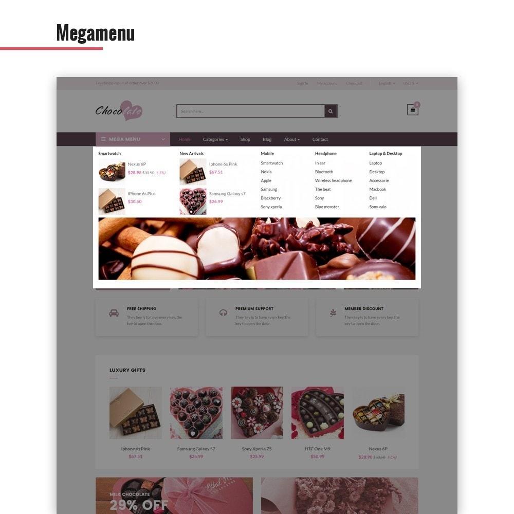 theme - Presentes, Flores & Comemorações - Ap Chocolate - 2
