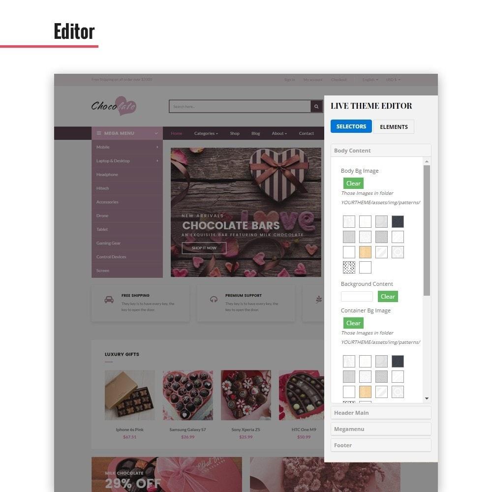 theme - Presentes, Flores & Comemorações - Ap Chocolate - 3