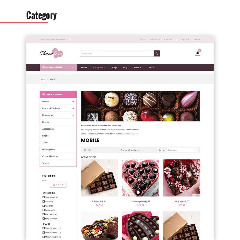 theme - Presentes, Flores & Comemorações - Ap Chocolate - 4