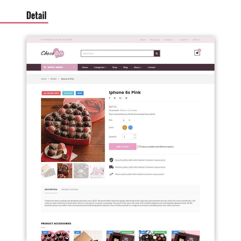theme - Cadeaux, Fleurs et Fêtes - Ap Chocolate - 6