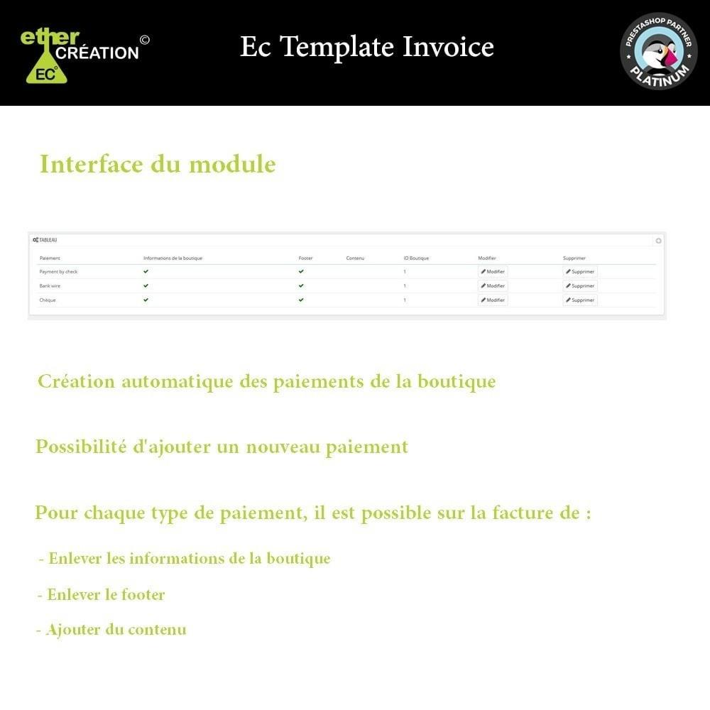 module - Comptabilité & Facturation - Gérer les factures en fonction des sources de vente - 1