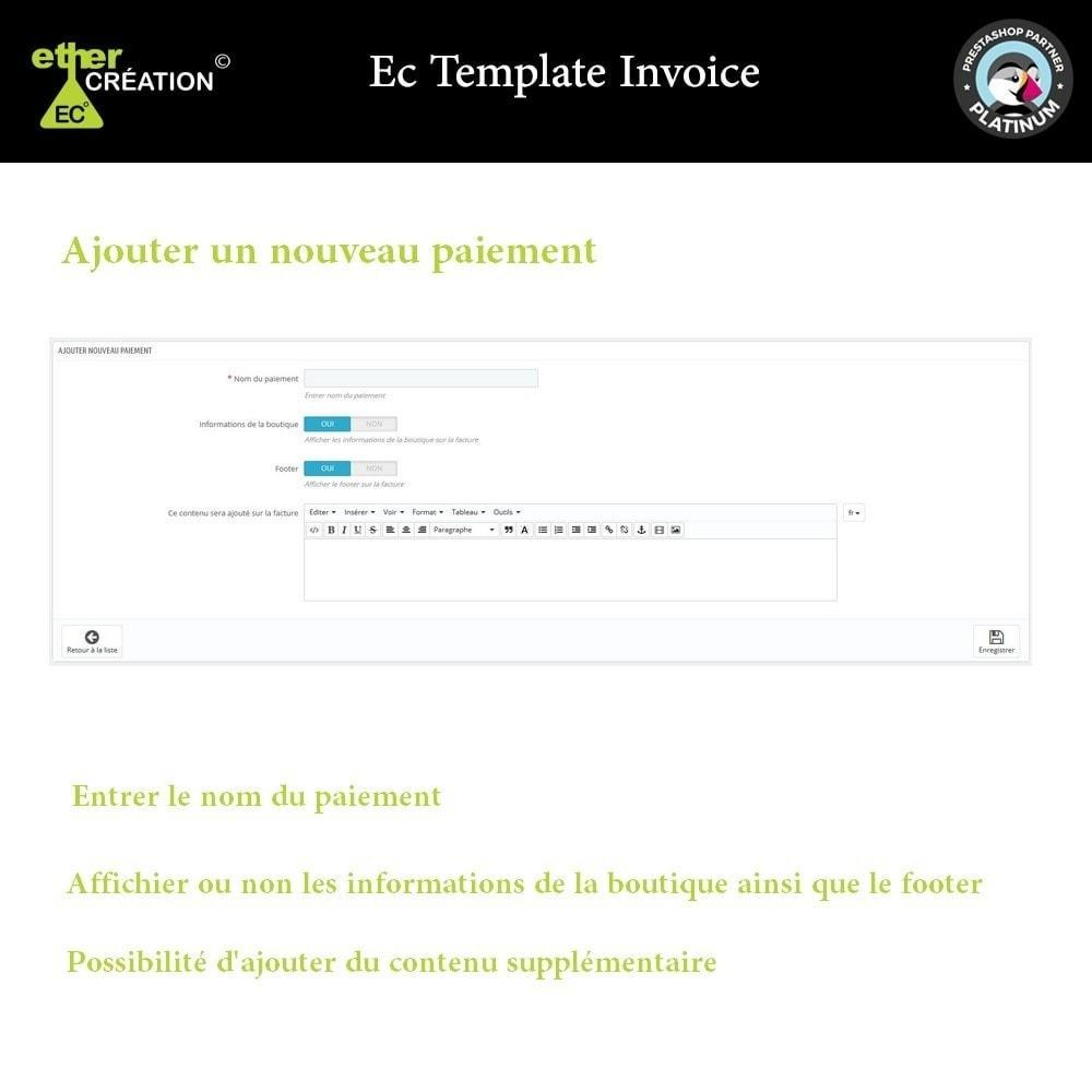 module - Comptabilité & Facturation - Gérer les factures en fonction des sources de vente - 2