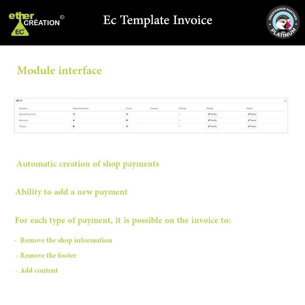 module - Księgowość & Fakturowania - Manage invoices based on sales sources - 1