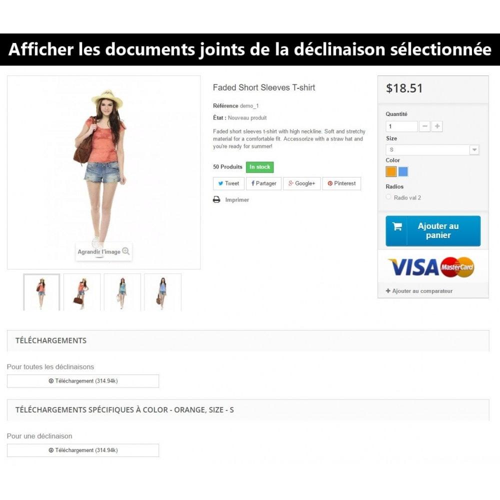 module - Déclinaisons & Personnalisation de produits - Documents joints pour déclinaisons - 5
