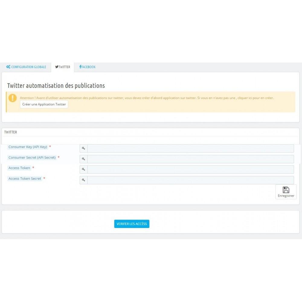 module - Produits sur Facebook & réseaux sociaux - Social Media Automation - Auto Post Products - 9