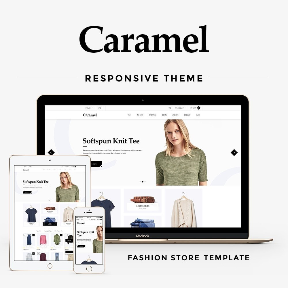 theme - Moda & Calçados - Caramel Fashion Store - 1