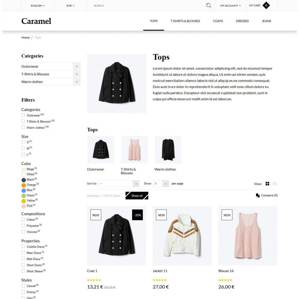 theme - Moda y Calzado - Caramel Fashion Store - 4