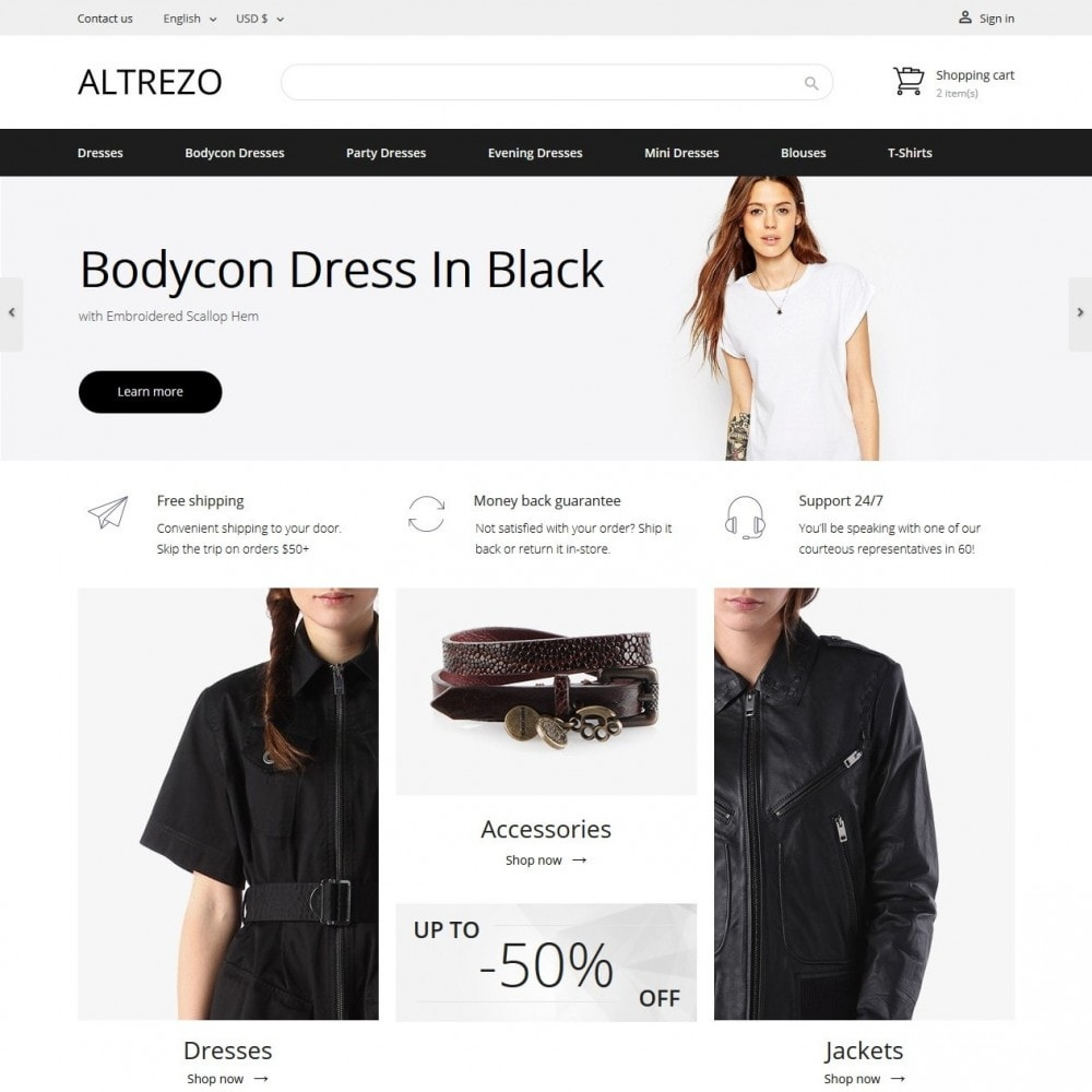 theme - Mode & Chaussures - Altrezo Fashion Store - 2